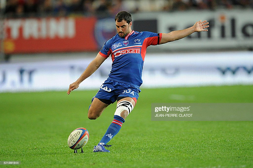 RUGBYU-FRA-TOP14-GRENOBLE-CASTRES : News Photo