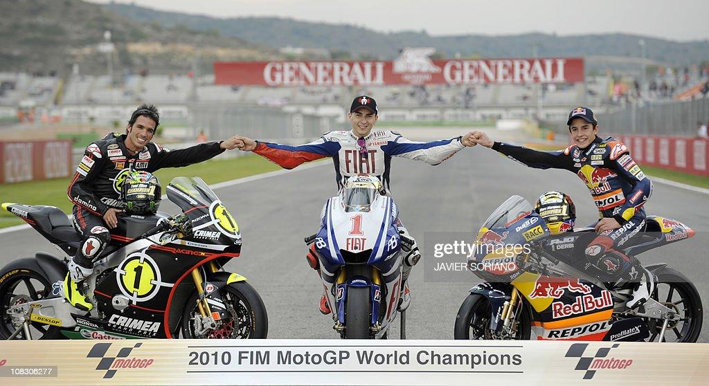 Gresini Racing Moto2 team's Spanish ride : News Photo