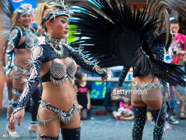 G.R.E.S.Saúde - Dominatrix themed samba parade at 'Jazz de Bon'