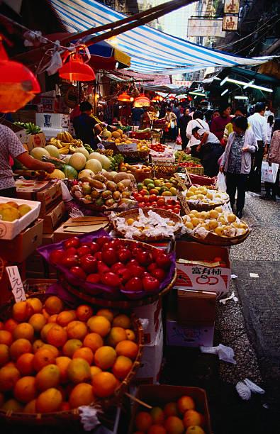 Gresson Street Market - Wan Chai, Hong Kong