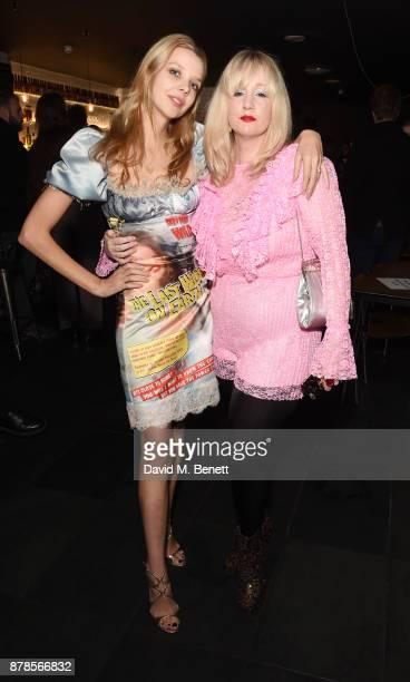 Greta Bellamacina and Sadie Brown attend a screening of short films 'Indigo Valley' and 'The Last Birthday' at Shortwave Cinema on November 24 2017...