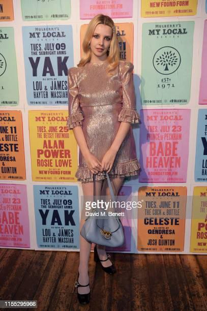 Greta Bellamacina attends Mulberry 'My Local' Series on June 11 2019 in London England