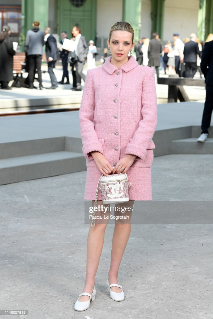 Chanel Cruise 2020.Greta Bellamacina Attends The Chanel Cruise 2020 Collection