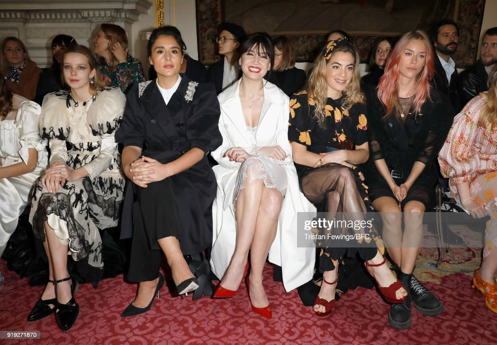 Simone Rocha - Front Row - LFW February 2018