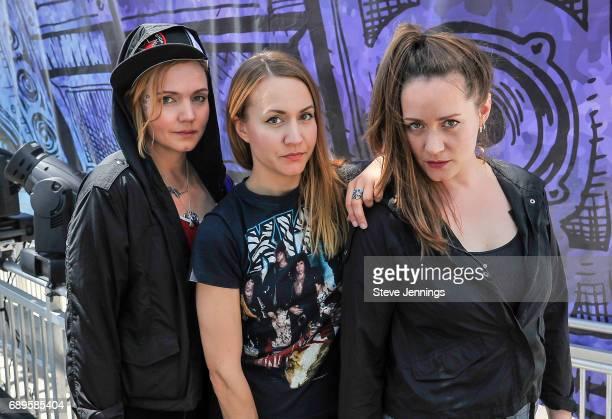 Greta Bondesson Sunniva Bondesson and Stella Bondesson of Baskery attend Day 3 of BottleRock Napa Valley 2017 on May 28 2017 in Napa California