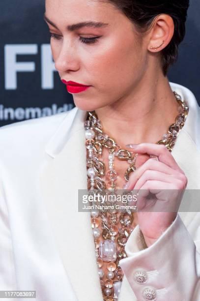 Greta Fernandez attends 'La Hija De Un Ladron' premiere during 67th San Sebastian International Film Festival on September 25 2019 in San Sebastian...