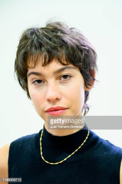 Greta Fernandez attends the announcement of the Spanish film candidate to Oscars at Academia del Cine on August 21 2019 in Madrid Spain