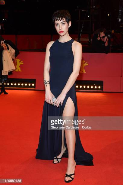 Greta Fernandez attends the premiere for the screening of the Netflix film Elisa Y Marcela during the 69th Berlinale International Film Festival...