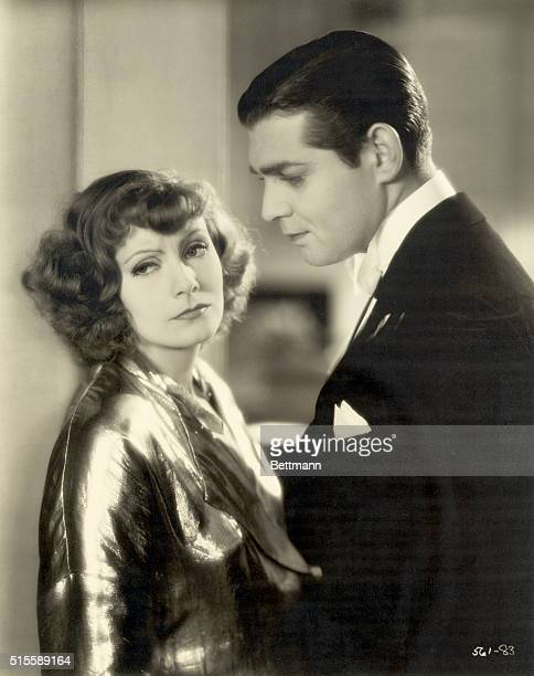 Greta Garbo and Clark Gable in the MGMproduction Susan Lenox directed by Robert Z Leonard Photograph 1931