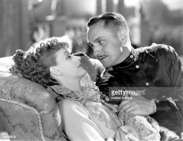 Greta Garbo and Fredric March star in 'Anna Karenina' a screen adaptation of Leo Tolstoy's tragic novel directed by Clarence Brown for MGM