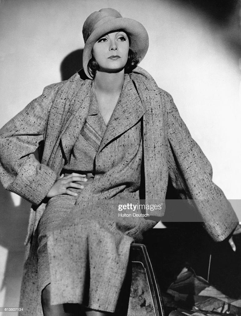 Actress Greta Garbo, ca. 1935 : News Photo