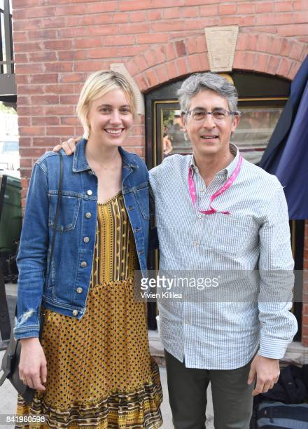 Greta Gerwig and Alexander Payne attend the Telluride Film Festival 2017 on September 2 2017 in Telluride Colorado