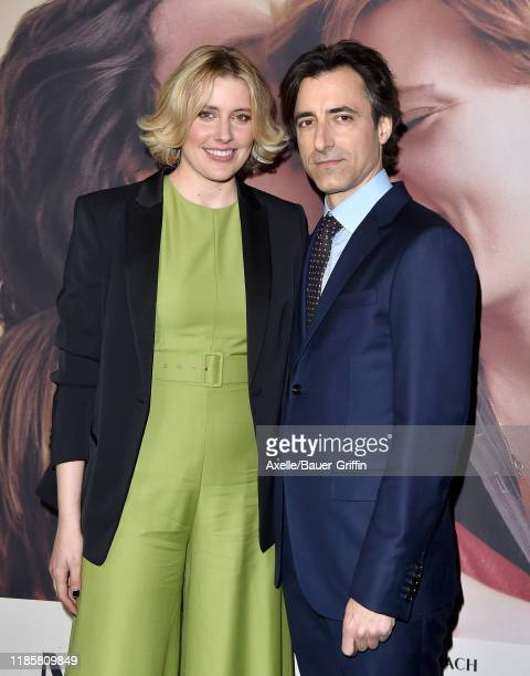 Greta Gerwig and Noah Baumbach attend the Premiere of Netflix's Marriage Story at DGA Theater on November 05 2019 in Los Angeles California