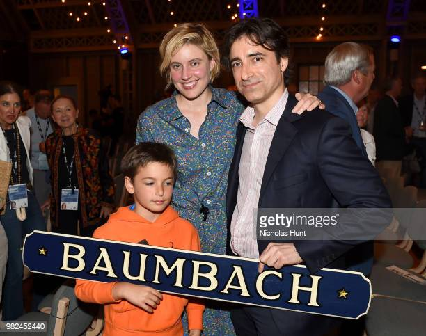 Greta Gerwig and Noah Baumbach attend the Screenwriters Tribute at the 2018 Nantucket Film Festival Day 4 on June 23 2018 in Nantucket Massachusetts