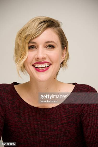 Greta Gerwig at the '20th Century Women' Press Conference at the Four Seasons Hotel on November 17 2016 in Beverly Hills California
