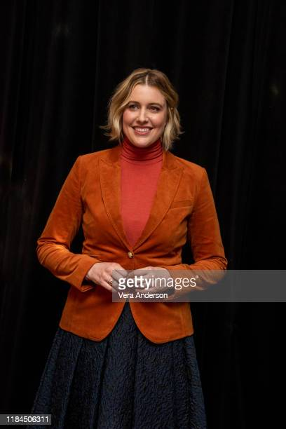 Greta Gerwig at the Little Women Press Conference at the Beverly Wilshire Hotel on October 28 2019 in Beverly Hills California