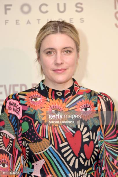 """Greta Gerwig attends a New York screening of """"Never Rarely Sometimes Always"""" at Metrograph on March 09, 2020 in New York City."""