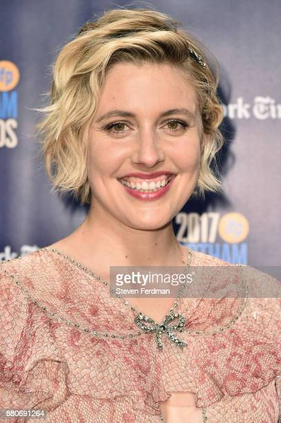 Greta Gerwig attends IFP's 27th Annual Gotham Independent Film Awards at Cipriani Wall Street on November 27 2017 in New York City