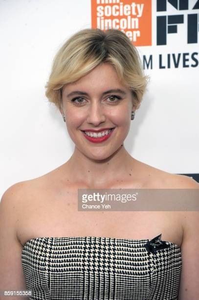 Greta Gerwig attends 'Lady Bird' screening during 55th New York Film Festival at Alice Tully Hall on October 8 2017 in New York City