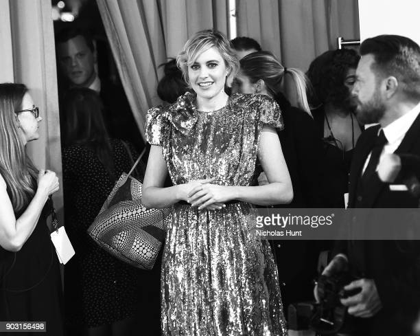 Greta Gerwig attends the 2018 National Board Of Review Awards Gala at Cipriani 42nd Street on January 9 2018 in New York City