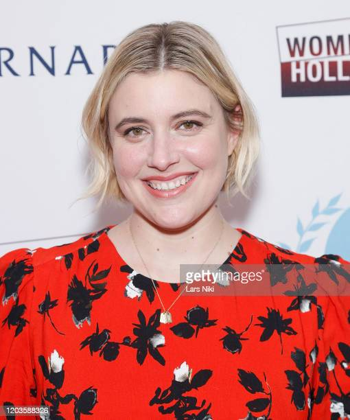 Greta Gerwig attends the 2020 Athena Film Festival awards ceremony at The Diana Center at Barnard College on February 26, 2020 in New York City.