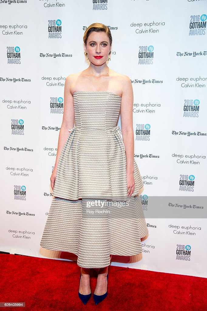 Greta Gerwig attends the 26th Annual Gotham Independent Film Awards at Cipriani Wall Street on November 28, 2016 in New York City.