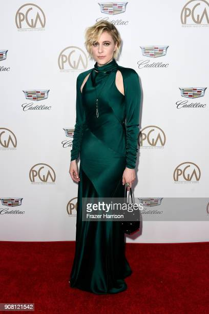 Greta Gerwig attends the 29th Annual Producers Guild Awards at The Beverly Hilton Hotel on January 20 2018 in Beverly Hills California