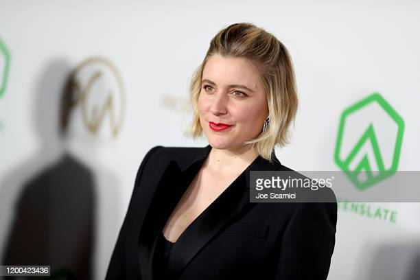 Greta Gerwig attends the 31st Annual Producers Guild Awards at Hollywood Palladium on January 18, 2020 in Los Angeles, California.