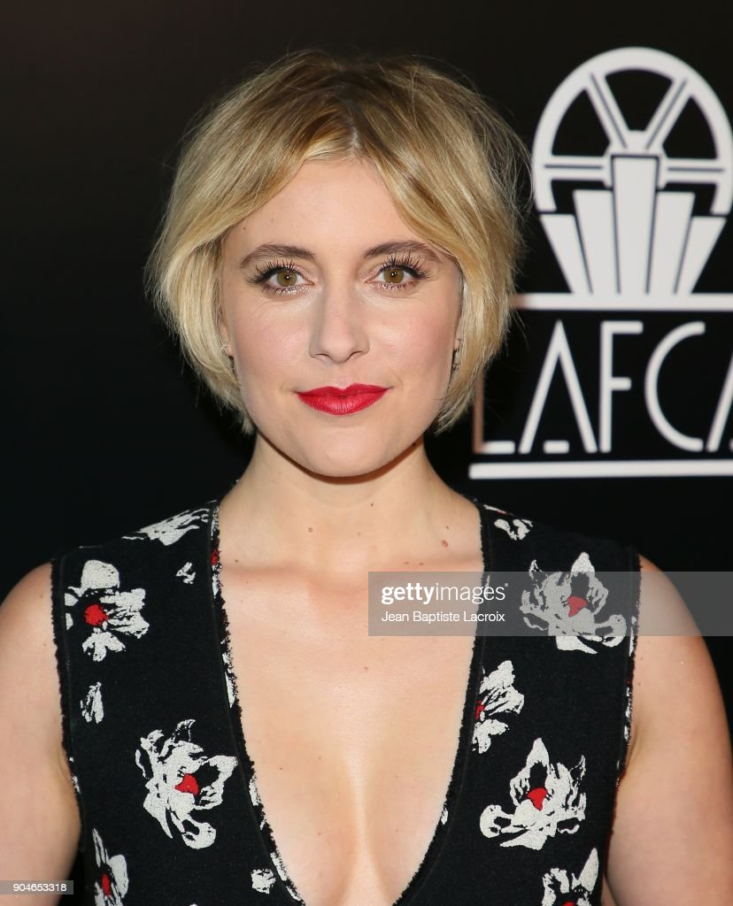 Greta Gerwig attends the 43rd Annual Los Angeles Film Critics Association Awards on January 13, 2018 in Hollywood, California.