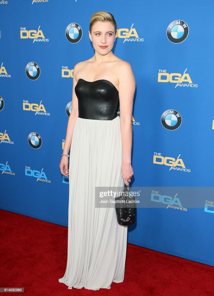 Greta Gerwig attends the 70th Annual Directors Guild Of America Awards at The Beverly Hilton Hotel on February 3, 2018 in Beverly Hills, California.
