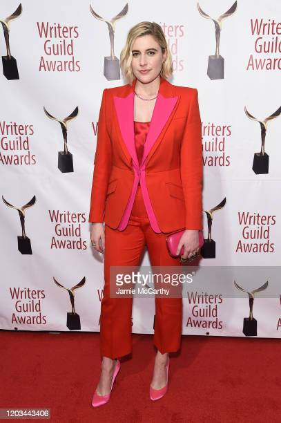 Greta Gerwig attends the 72nd Writers Guild Awards at Edison Ballroom on February 01 2020 in New York City