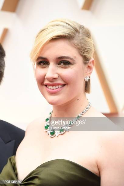 Greta Gerwig attends the 92nd Annual Academy Awards at Hollywood and Highland on February 09 2020 in Hollywood California