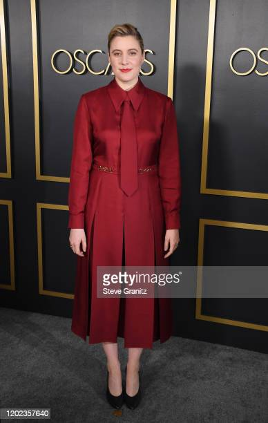 Greta Gerwig attends the 92nd Oscars Nominees Luncheon on January 27 2020 in Hollywood California