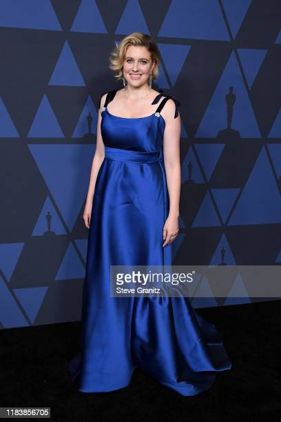 Greta Gerwig attends the Academy Of Motion Picture Arts And Sciences' 11th Annual Governors Awards at The Ray Dolby Ballroom at Hollywood & Highland...