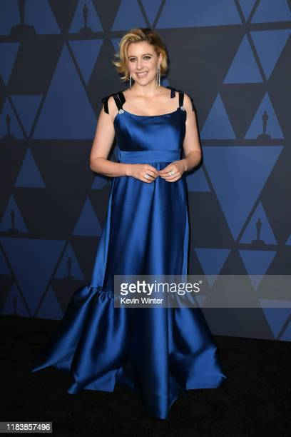 Greta Gerwig attends the Academy Of Motion Picture Arts And Sciences' 11th Annual Governors Awards at The Ray Dolby Ballroom at Hollywood Highland...