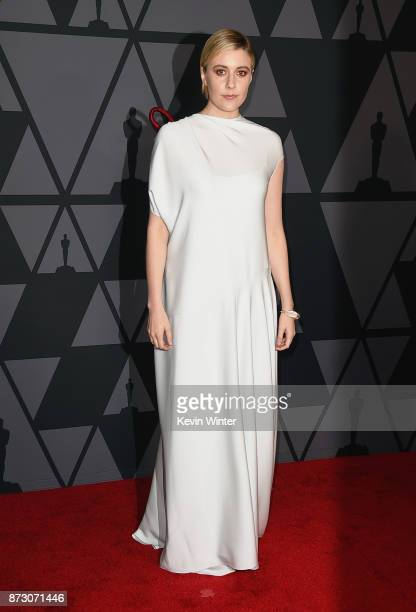 Greta Gerwig attends the Academy of Motion Picture Arts and Sciences' 9th Annual Governors Awards at The Ray Dolby Ballroom at Hollywood Highland...