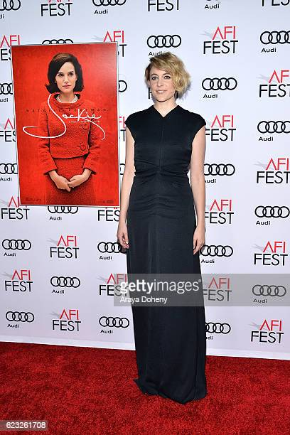 Greta Gerwig attends the AFI FEST 2016 Presented By Audi Centerpiece Gala Screening Of Fox Searchlight Pictures's 'Jackie' at TCL Chinese Theatre on...