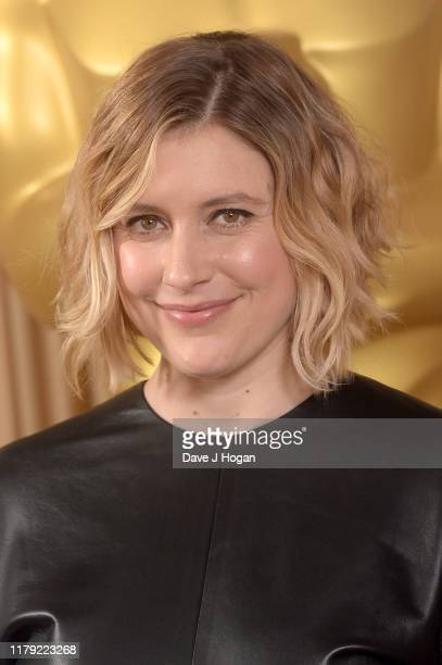 Greta Gerwig attends the AMPAS New Members Event at Freemasons Hall on October 05 2019 in London England