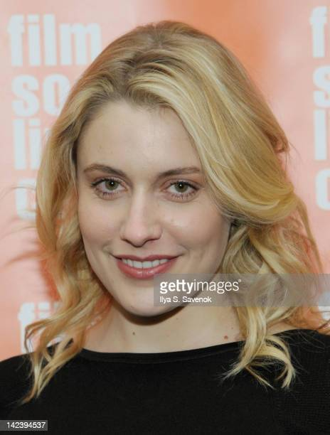 Greta Gerwig attends the Damsels in Distress screening at The Film Society of Lincoln Center on April 3 2012 in New York City