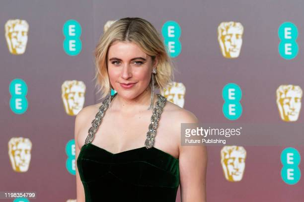 Greta Gerwig attends the EE British Academy Film Awards ceremony at the Royal Albert Hall on 02 February, 2020 in London, England.- PHOTOGRAPH BY...
