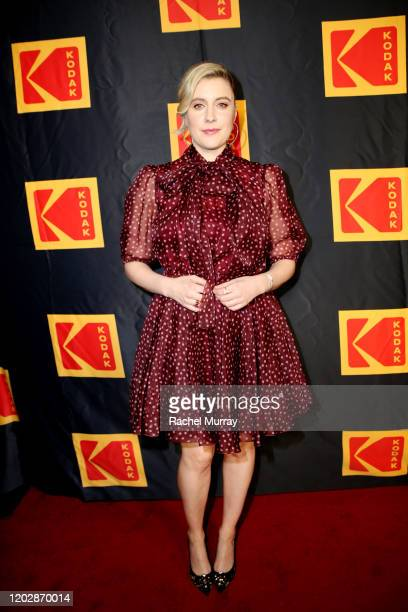 Greta Gerwig attends the Fourth Annual Kodak Film Awards at ASC Clubhouse on January 29 2020 in Los Angeles California