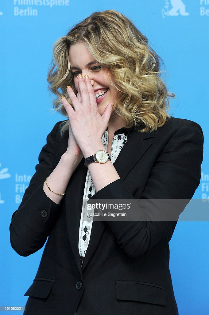 Greta Gerwig attends the 'Frances Ha' Photocall during the 63rd Berlinale International Film Festival at the Grand Hyatt Hotel on February 14, 2013 in Berlin, Germany.