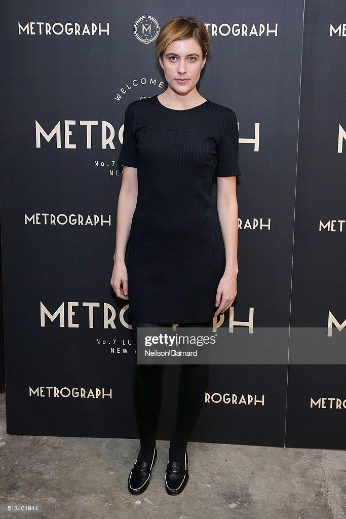 Metrograph Opening Night : News Photo