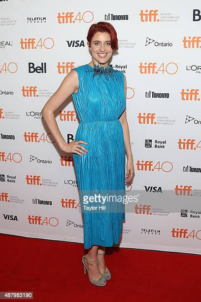 Greta Gerwig attends the premiere of 'Maggie's Plan' at Princess of Wales Theatre during the 2015 Toronto International Film Festival on September 12...