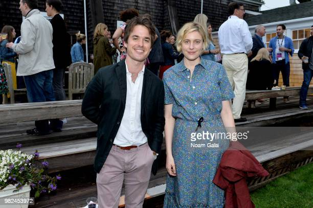 Greta Gerwig attends the Screenwriters Tribute at the 2018 Nantucket Film Festival Day 4 on June 23 2018 in Nantucket Massachusetts