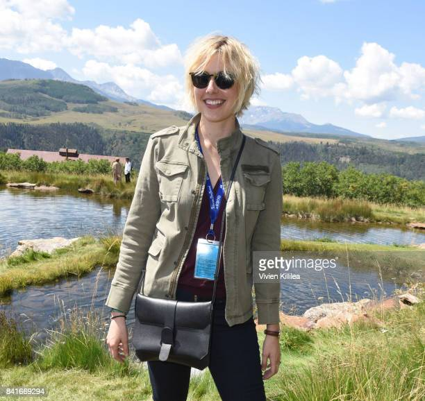 Greta Gerwig attends the Telluride Film Festival 2017 on September 1 2017 in Telluride Colorado