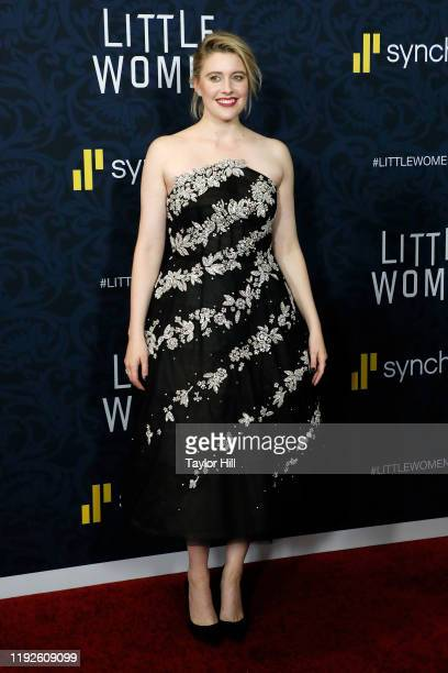 Greta Gerwig attends the world premiere of Little Women at Museum of Modern Art on December 07 2019 in New York City