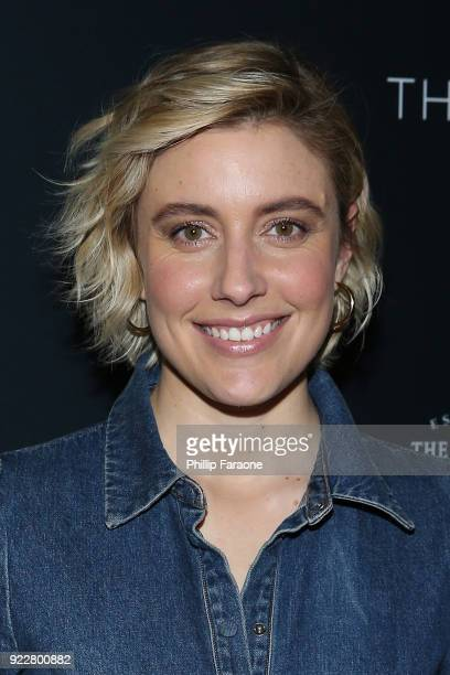 Greta Gerwig attends TheWrap's 2018 Women Whiskey and Wisdom Celebrating Women Oscar Nominees at Teddy's at The Hollywood Rooselvelt Hotel on...