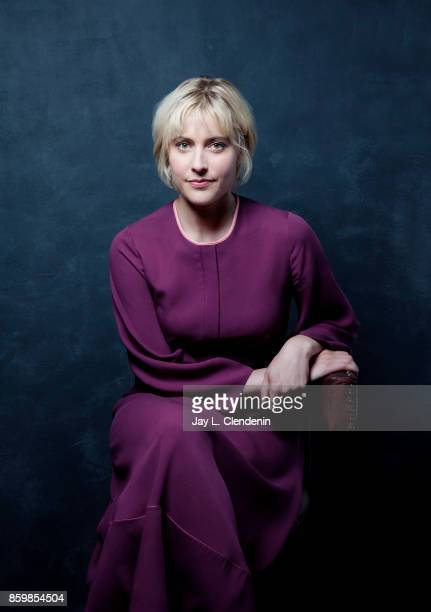 Greta Gerwig from the film 'Lady Bird poses for a portrait at the 2017 Toronto International Film Festival for Los Angeles Times on September 8 2017...