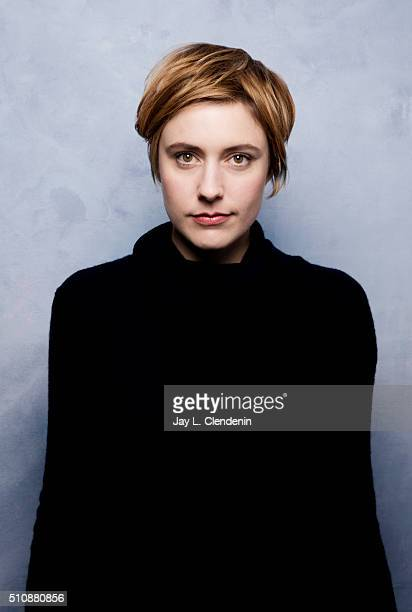 Greta Gerwig from the film 'Weiner Dog' poses for a portrait at the 2016 Sundance Film Festival on January 24 2016 in Park City Utah CREDIT MUST READ...